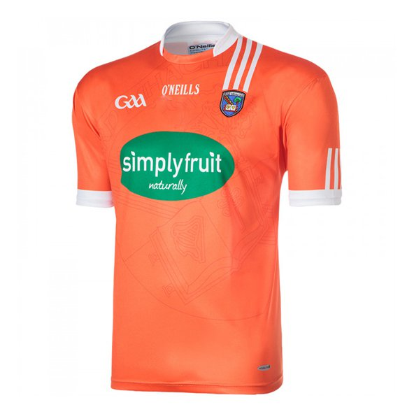 O'Neills Armagh Home 16 Jersey Orange