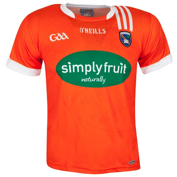 O'Neills Armagh Hm Kids 16 Jersey Orange