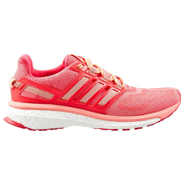 adidas Energy Boost 3 Women's Running Shoe, Pink/Red