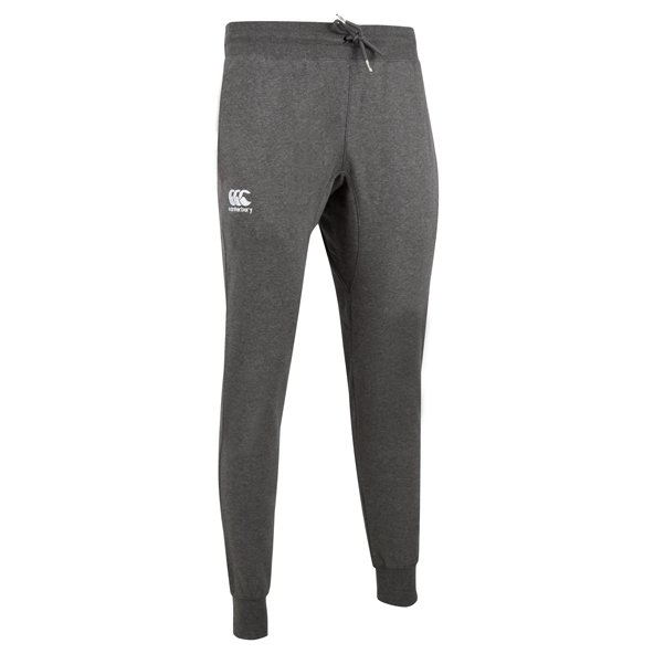 Canterbury Tapered Fleece Cuffed Men's Pant, Grey