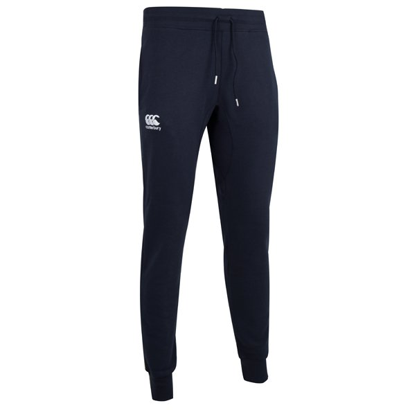 Canterbury Tapered Fleece Cuffed Men's Pant, Navy