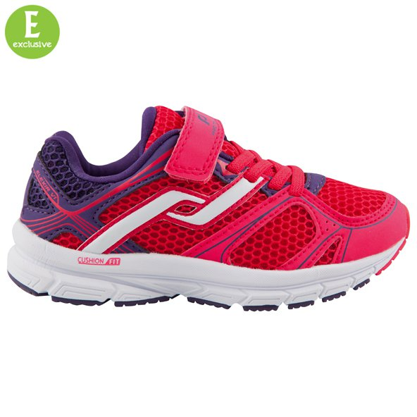 Pro Touch Elexir VI Junior Girls' Shoe, Red