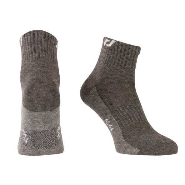 Pro Touch Bjubljana 3 Pack Running Sock, Grey