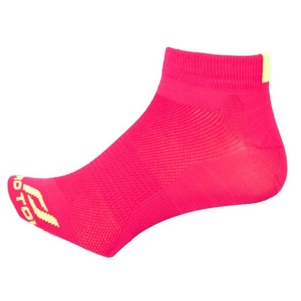 Pro Touch Bakis Low Cut Running Sock, Red