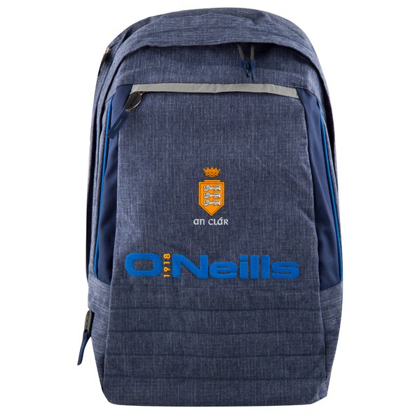 O'Neills Clare GAA Backpack, Navy