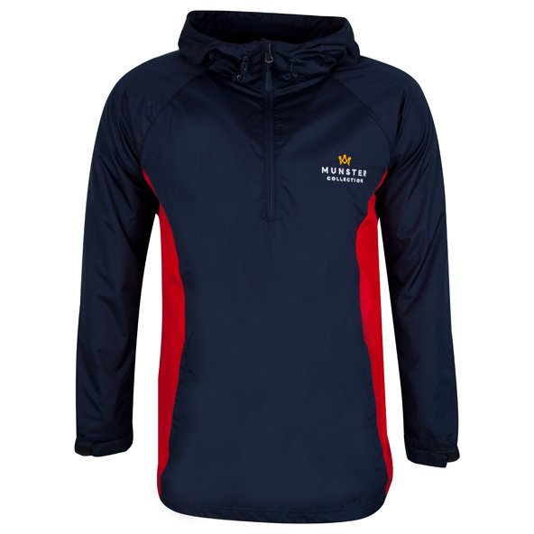 Munster Collection Authentic Munster ½ Zip Jacket, Navy