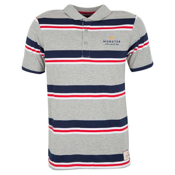 Munster Collection Authentic Munster Polo, Grey