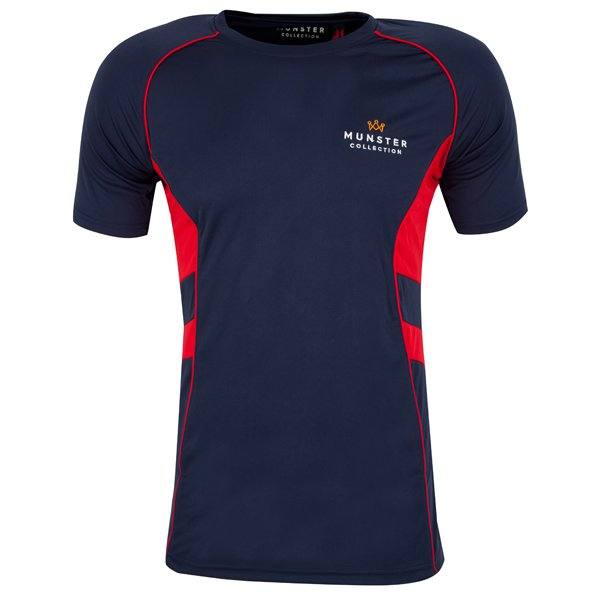 Munster Collection Authentic Munster T-Shirt, Navy