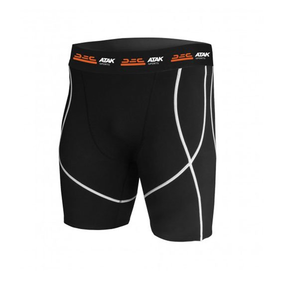 ATAK Kids' Compression Short Black