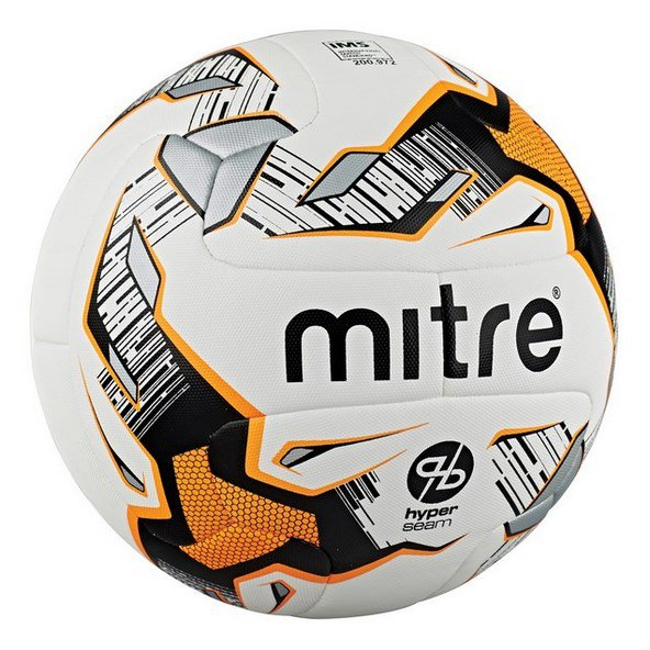Mitre Ultimatch Hyperseam Ball White