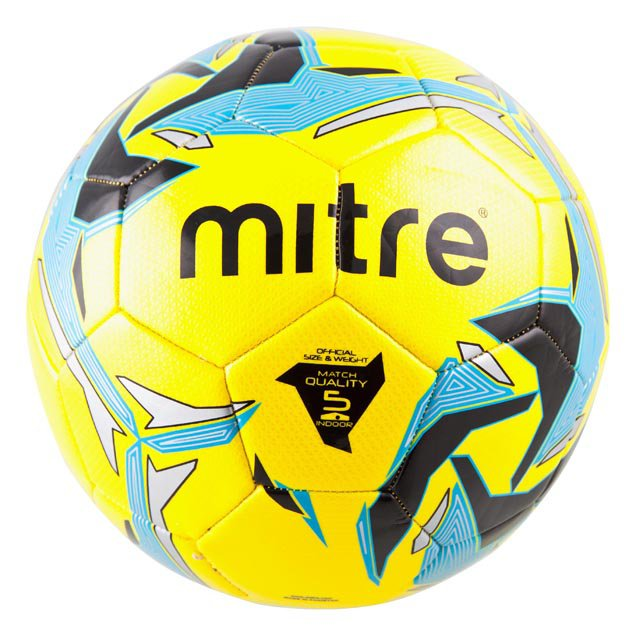 Mitre Indoor V7 Ball Yellow