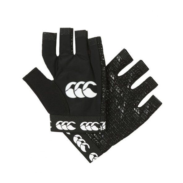 Canterbury Pro Grip Kids Gloves Black
