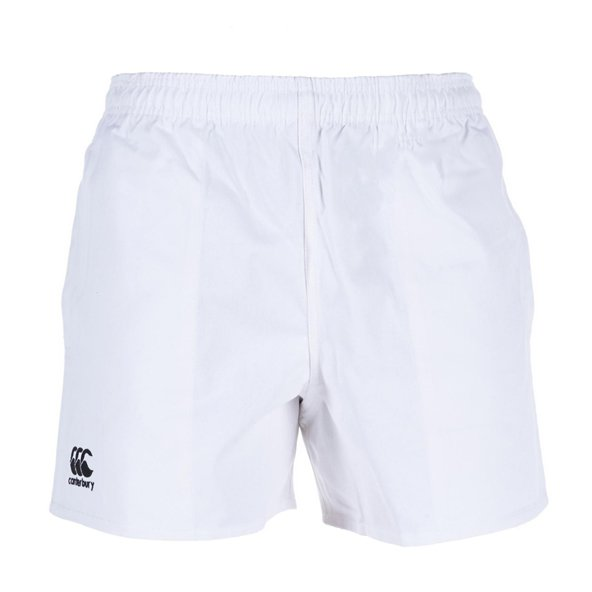 Canterbury Rugged Pro Kids' Short, White