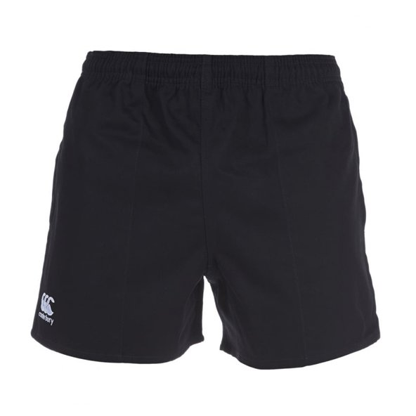 Canterbury Rugged Pro Kids' Short, Black