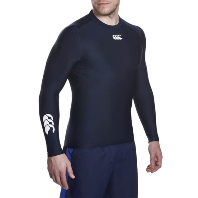 Canterbury ThermoReg Cold LS Top Black