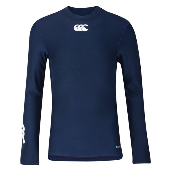 Canterbury Thermoreg Kids' Cold Gear Baselayer, Navy