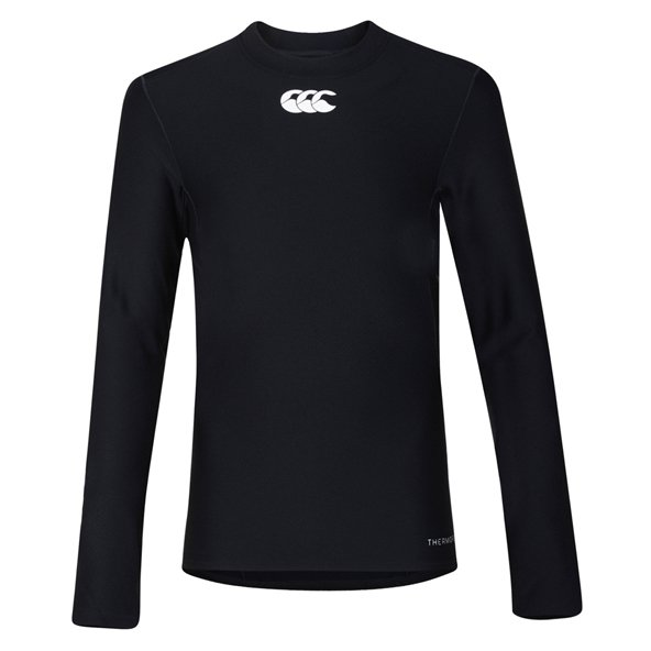Canterbury Thermoreg Kids' Cold Gear Baselayer, Black