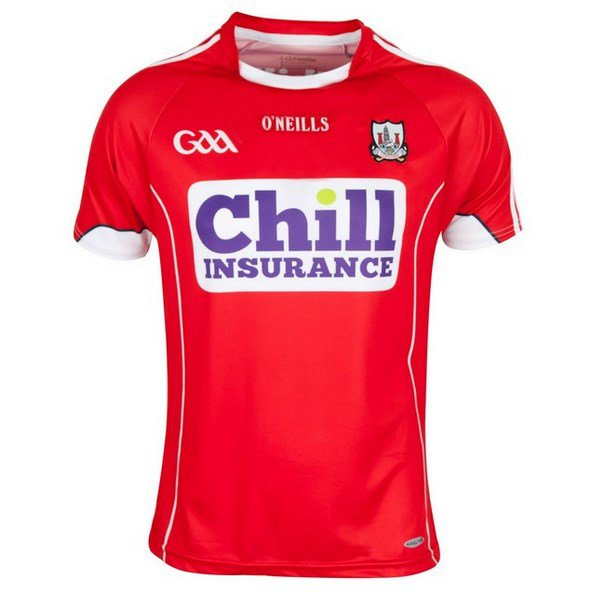 O'Neills Cork 2016 Player's Fit Home Jersey Red