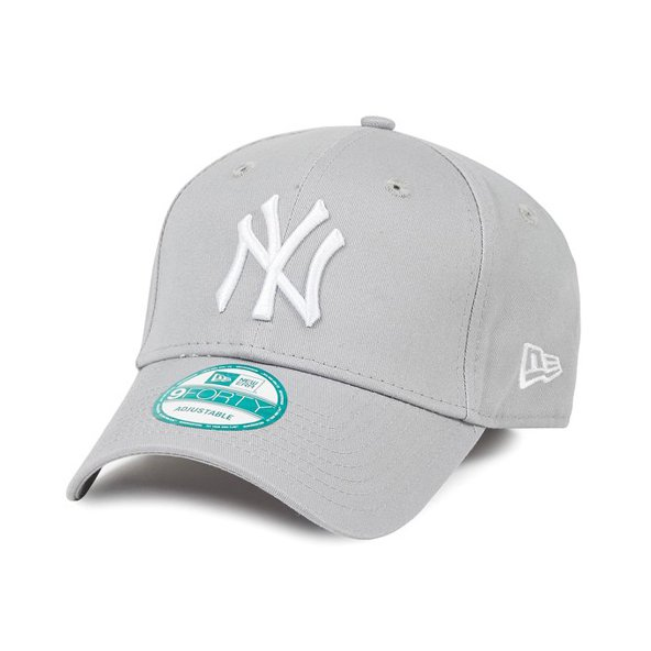 New Era 9Forty League NY Yankees Gry/Wh