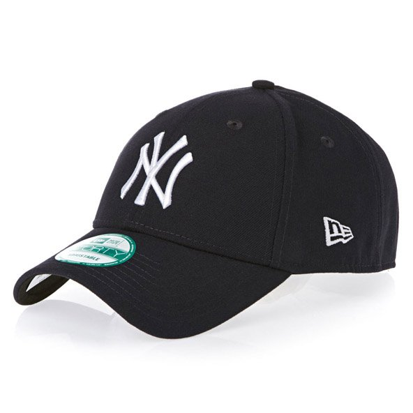 New Era NY Yankees 9Forty Baseball Cap, Black