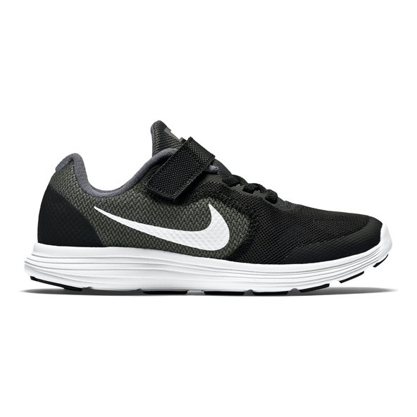 Nike Revolution 3 Junior Boys' Trainer, Black