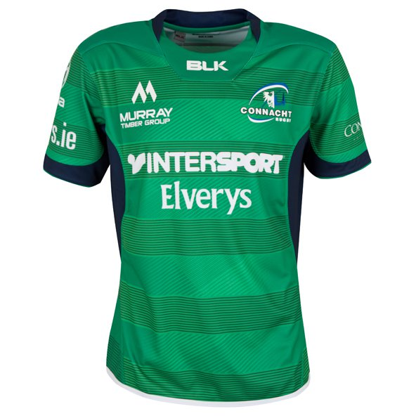 BLK Connacht 2016 Home Jersey, Green