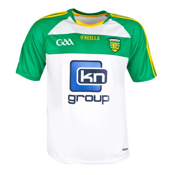 O'Neills Donegal 2016 Kids' Away Jersey, White