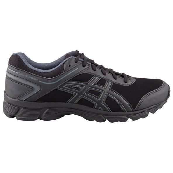 Asics Gel-Mission Men's Walking Shoe, Black