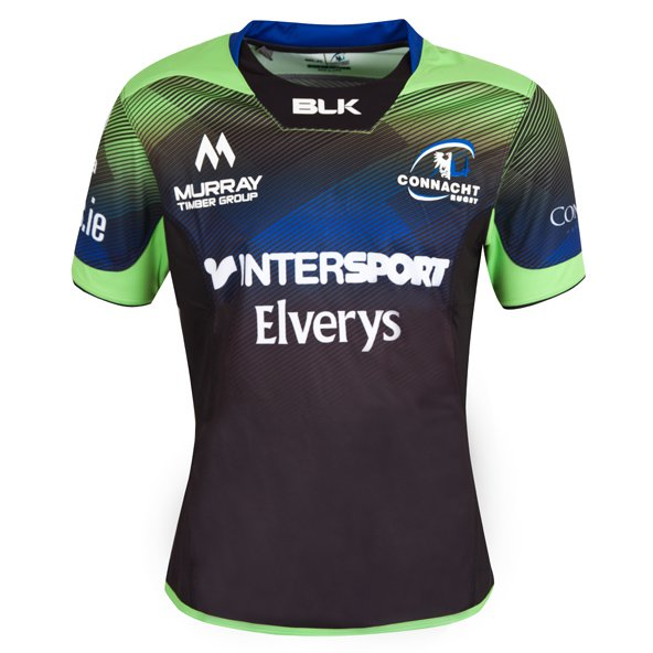BLK Connacht 2016 ECC Jersey, Black