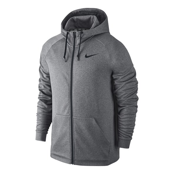Nike Therma Full Zip Training Hoody, Grey
