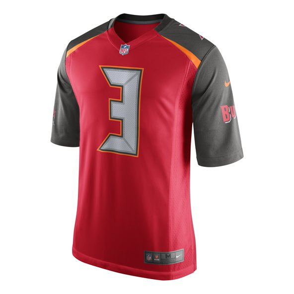 Nike Tampa Bay Buccaneers Winston 3 Jersey, Red