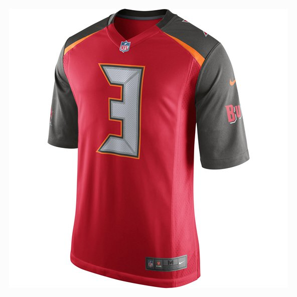 Nike Buccaneers Winston Home Jersey Red