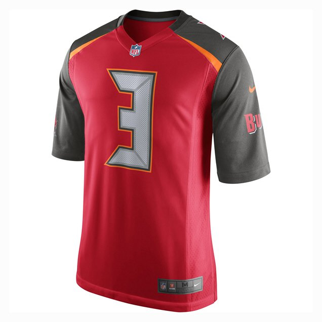 cheap for discount 7e872 99ac1 Nike Buccaneers Winston Home Jersey Red | Elverys Site