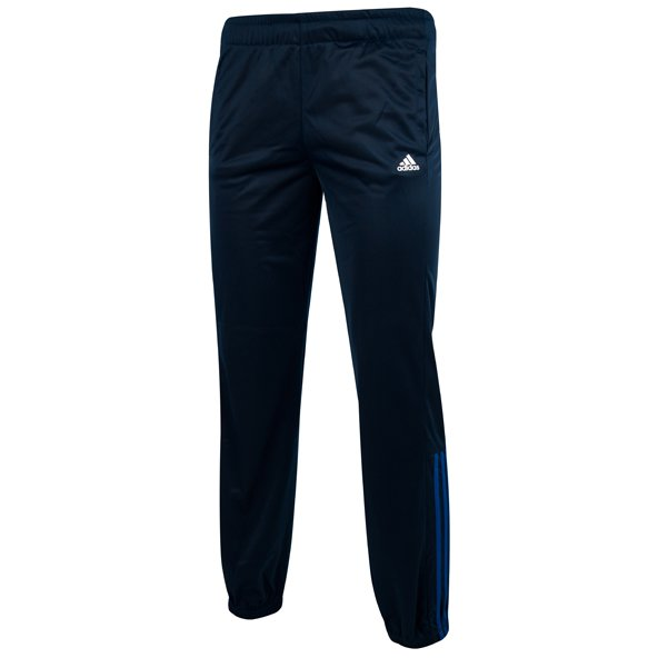 adidas Essential Mid 3-Stripe Boys' Pant, Navy