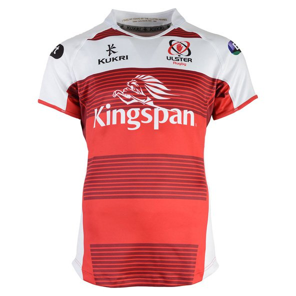 Kukri Ulster 2016/17 Kids' European Jersey, Red