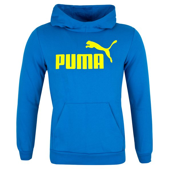 Puma Sports Boys OH Hoody Blue/Yellow