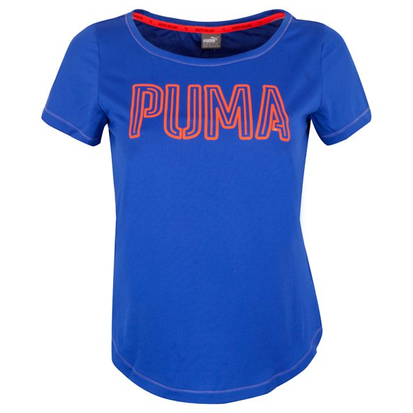 Puma Active Dry Train Layer Girls' T-Shirt, Blue