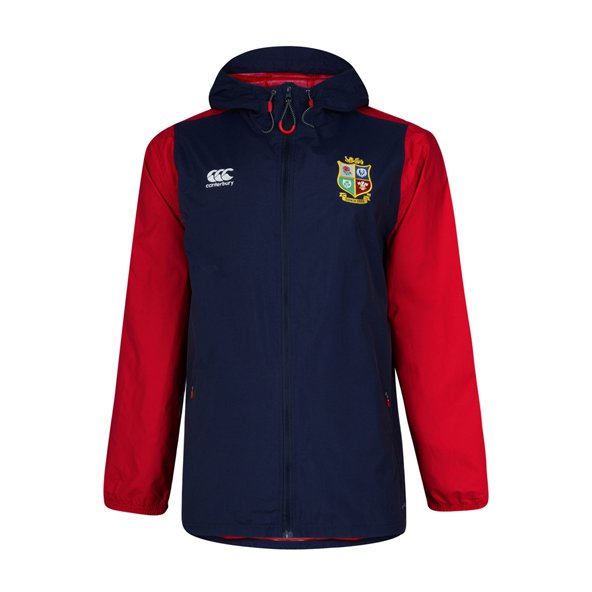 Canterbury Lions 2017 Kids' Rain Jacket, Navy