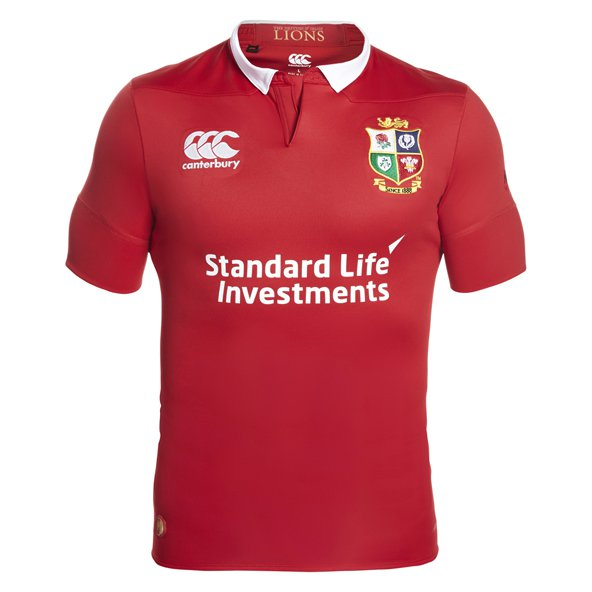 Canterbury British & Irish Lions 2017 Test Jersey, Red