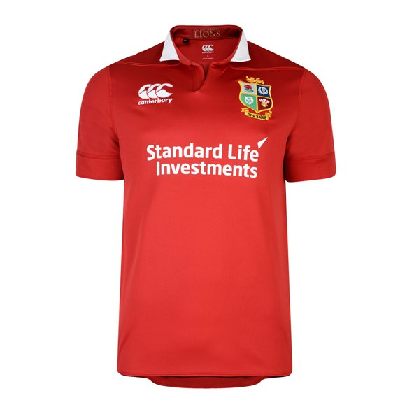 Canterbury British & Irish Lions 2017 Pro Jersey, Red