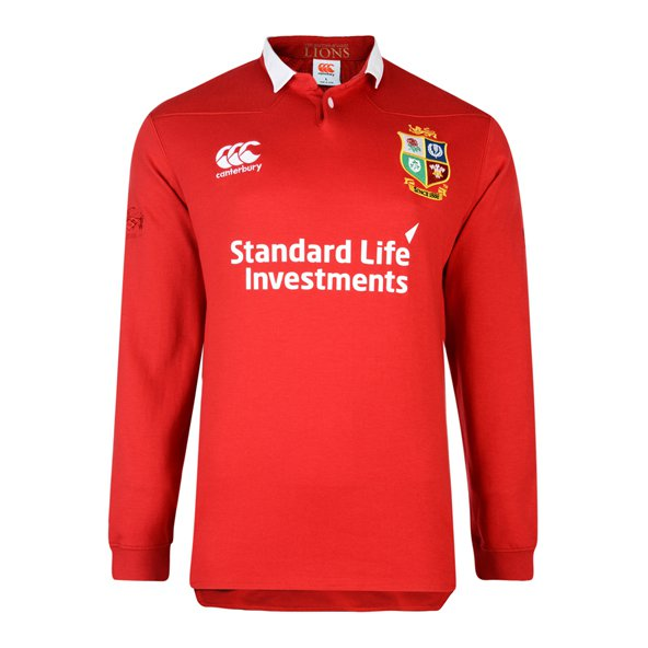 Canterbury British & Irish Lions 2017 Classic Jersey, Red