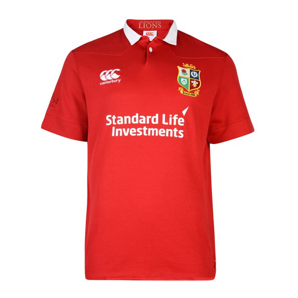 Canterbury British & Irish Lions 2017 Classic SS Jersey, Red