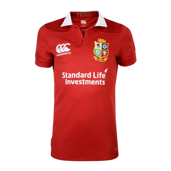 Canterbury British & Irish Lions 2017 Kids' Pro Jersey, Red