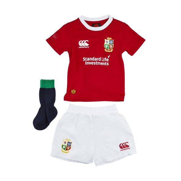 Canterbury British & Irish Lions 2017 Infant Kit, Red