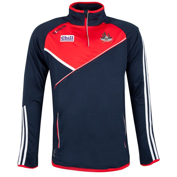 O'Neills Cork Conall Men's ½ Zip Top, Navy