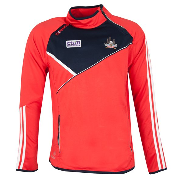 O'Neills Cork Conall Men's Side Zip Top, Red