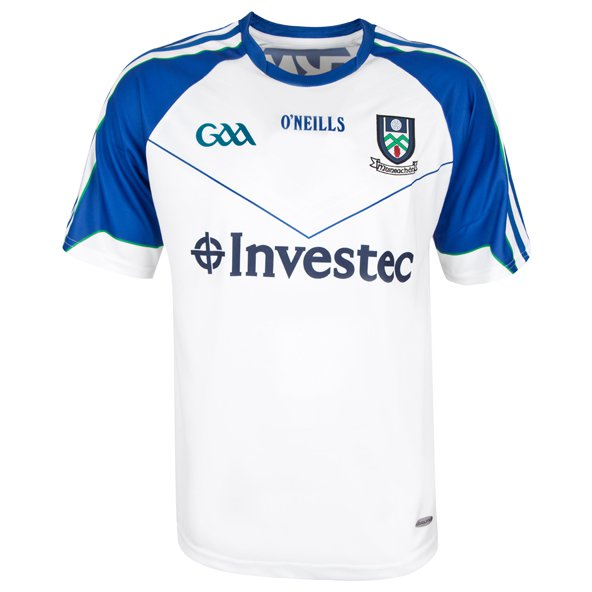 O'Neills Monaghan 2016 Kids' Home Jersey, White