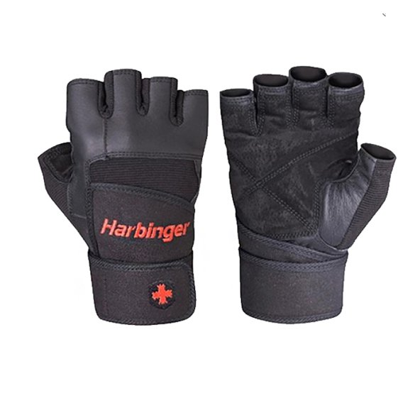 Harbinger Men's Pro Wristwrap Black