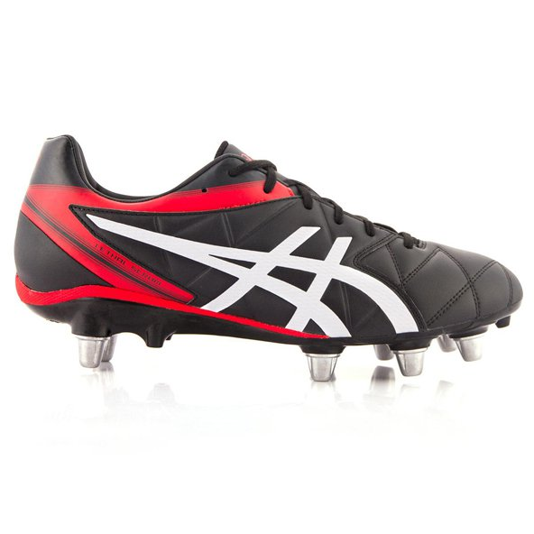 Asics Lethal Scrum Rugby Boot, Black