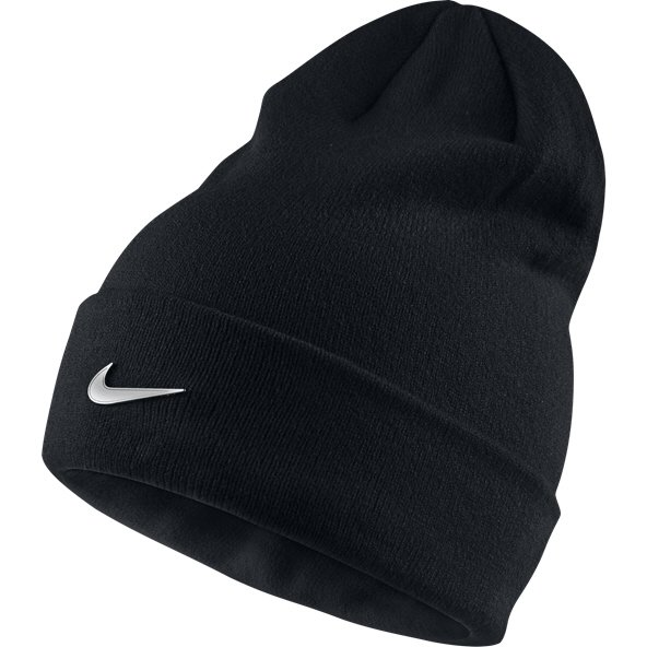 Nike Metal Swoosh Kids' Beanie, Black